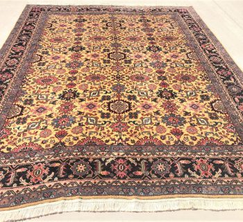 PERSIAN MAHAL HAND KNOTTED RUG – 9.2 x 11.5