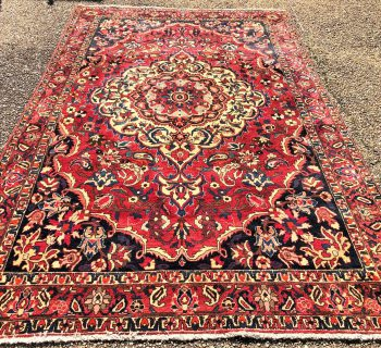 PERSIAN TABRIZ HAND KNOTTED RUG – 6.9 x 11.0