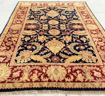 Agra Hand Knotted Rug