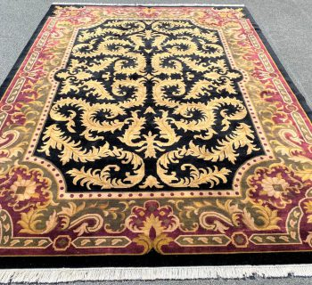 AGRA HAND KNOTTED RUG – 9.11 x 13.11