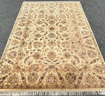 OUSHAK HAND KNOTTED RUG – 6.0 x 9.4