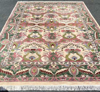 TABRIZ HAND KNOTTED RUG – 9.2 x 12.0