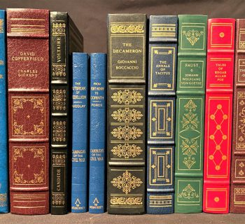 FRANKLIN LIBRARY LEATHER BOUND BOOKS – 12 VOLUMES